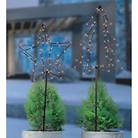 3d Weihnachtsleuchte Gartenstecker Tannenbaum Mit 52 Leds