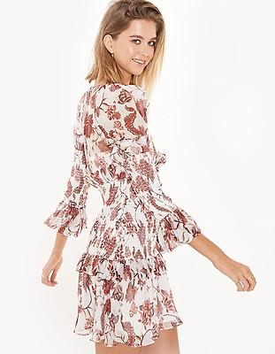 76156e9bbc1d Chintz Print Dress - Coral Multi - Superette | Your Fashion Destination.