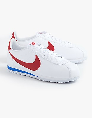 buy popular d28c3 4ee02 Mens Classic Cortez Leather - White Varsity Red Varsity Royal ...