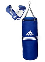 adidas boxing set performance schwarz adibac11kit