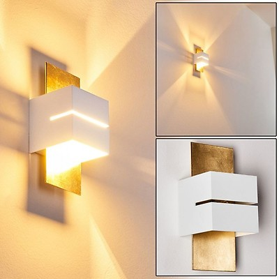 2er Set LED Wandleuchten Beleuchtungen H 13 cm Arbeitszimmer Leselampen EEK A++