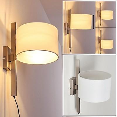 Faro Barcelona Sweet 29951/ Schwarz 15/W /Wandleuchte LED Metall//Textil