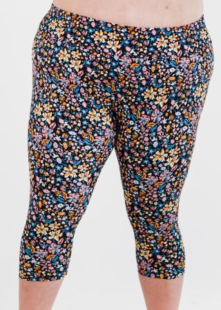 Plus Size Capri Swim Leggings