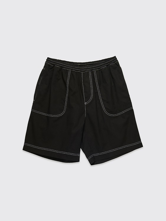 4d4a61fc84 Très Bien - Stüssy OG Brushed Beach Shorts Black