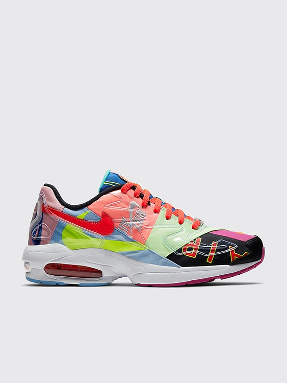 new arrival 43c53 69598 Nike x Atmos Air Max2 Light QS Black   Bright Crimson
