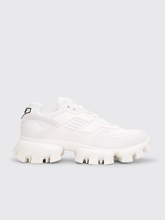 Très Bien Prada Pegasus Sneakers Camo Black