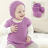 5e8a0ae62 Childrens Pinafore and Cardigans in Sirdar Snuggly Baby Bamboo Dk ...