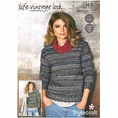 7db8855a53da4e Sweaters in Stylecraft Life DK and Life Vintage Look DK