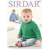 dc6eb0eba9b3 Buy Sweaters in Sirdar Snuggly Baby Bamboo DK 4784