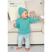 18ff69d9fa9f Buy Rico Baby Cardigans Knitting Pattern in Baby Classic Dk 840