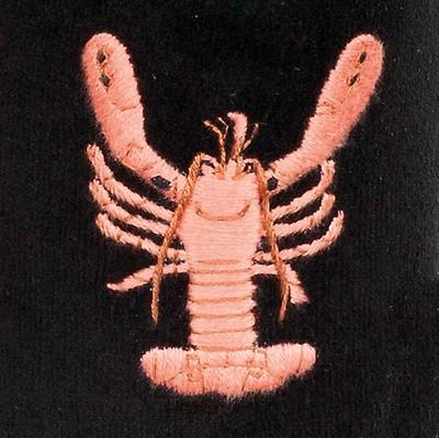 21e82205ce79 Mens WIDE Stag Motif Navy Velvet Slipper - UK 9.5