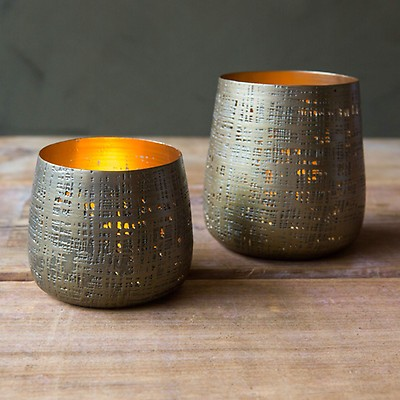Metal Tea Light Holders Graham Green