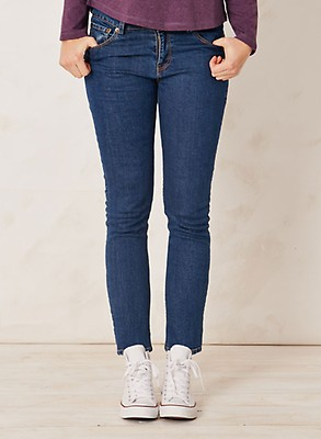 2a4115d247 Queenie Organic Jeans by Braintree Indigo Cotton