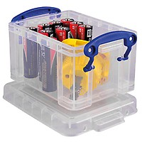 REALLY USEFUL BOX Aufbewahrungsbox 50C 71x44x23cm 50l transparent