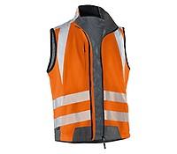 FORTIS Warnschutzweste warnorange 100%PES Gr Bekleidung & Schutzausrüstung L