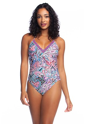 1ef69b9221da4 Swirlin Around V-Neck Mio One Piece