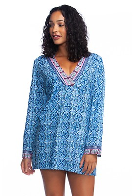 7a5f5c3995b1a Sorrento Tunic Dress | Womens Swimsuit Cover Up | LA BLANCA