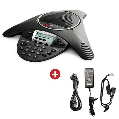 Polycom Soundstation IP 6000 with Power Supply