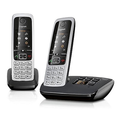 Gigaset C430A Digital Cordless Phone Twin Pack