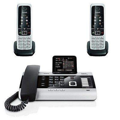 Gigaset DX800A + 2 Gigaset C430HX Handsets