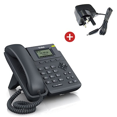 Yealink SIP-T19 IP VoIP Desktop Phone + Power Supply