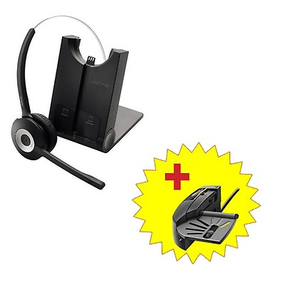 Jabra PRO 925 Dual Connectivity Headset + Handset Lifter
