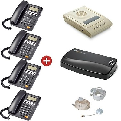 Orchid Telecom PBX 207 Starter Pack + Orchid MOH1 Music on Hold Unit