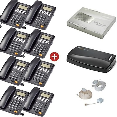 Orchid Telecom PBX 308+ Pro Pack + MOH1 Music on Hold Unit