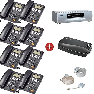 Orchid Telecom PBX 816ex Pro Pack + MOH1 Music on Hold Unit