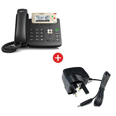 Yealink SIP-T23G VoIP Desktop Phone + Power Supply