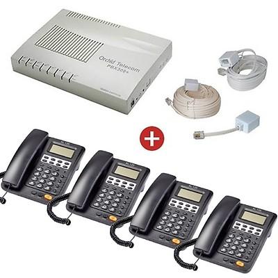 Orchid Telecom PBX 308+ Starter Pack
