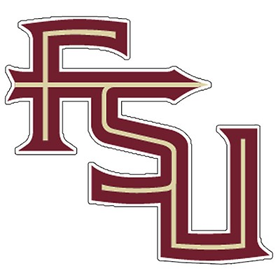 Stacked FSU Vinyl Decal 7e35285f4