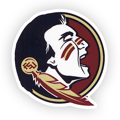 Dizzler 5inch Seminole Head Decal 6512e2963