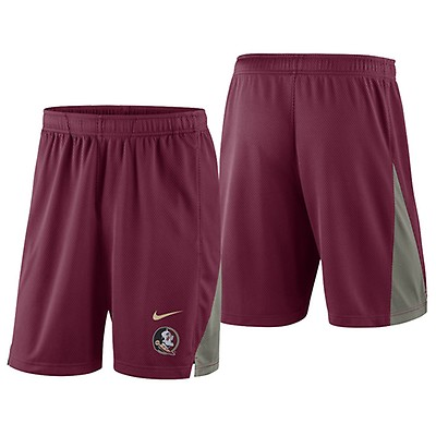 5c658bef10b7d Nike Men s Vault Florida State NCAA Evergreen Polo - Garnet Anthracite