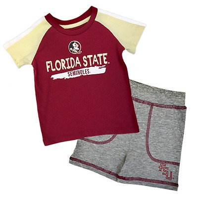 3878c66b Nike Women's Seminoles Dri-Fit Touch V-Neck T-shirt - Garnet
