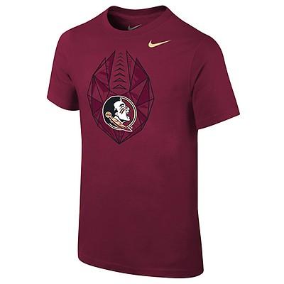 d3a756116ad3 Nike Youth Seminoles Football Icon Short Sleeve T-shirt - Garnet