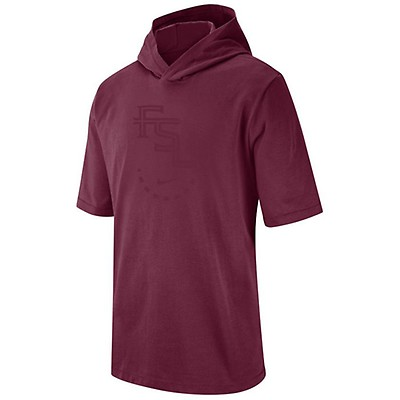 Nike Men s FSU NRG Hooded T-shirt - Garnet fd085d68549