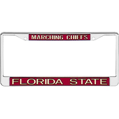 Silver Marching Chiefs Tag Frame 25231749f
