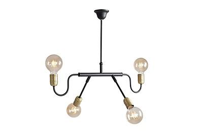 Flache Deckenleuchte Industrie Lampe Wohnzimmer