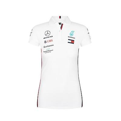 Mercedes AMG Petronas Women/'s Logo T-shirtBlack2019