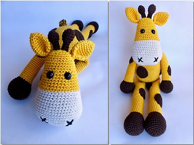 Wi Selbstgemacht Häkelanleitung Giraffe Raffi Myboshinet