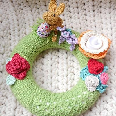 Leomaxi Crochet Natura 2 Osterkörbchen Häkeln Myboshinet
