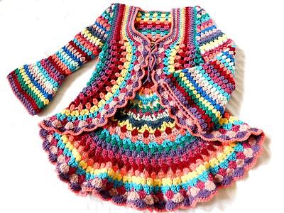 Leomaxi Crochet Kreisjacke Hippie Jacke Häkeln Summer Dream