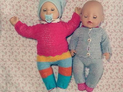 Knotenzeug By Kara Puppenkleidung Für 35 Cm Puppen Kleid Hose