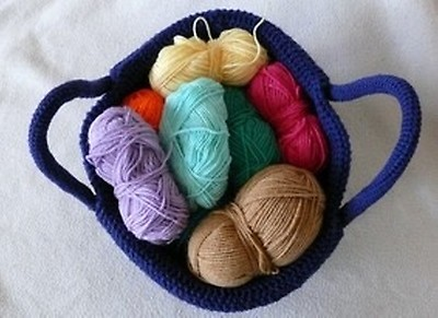 Knitwork By Ina Rustico Korb Häkelanleitung Myboshinet