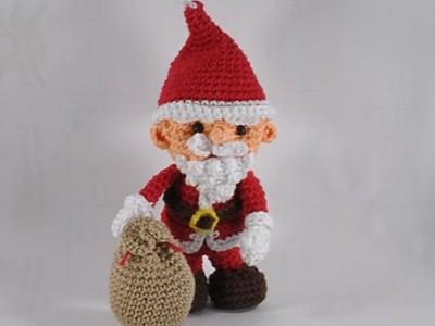 Kristinasart Häkelanleitung Weihnachtsmann Myboshinet