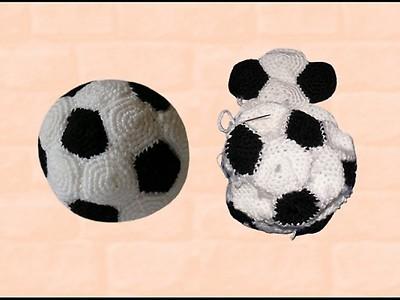 Woolaffair Baby Fußball Schuhe Stricken Und Häkeln No13