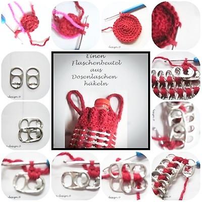 laschen_design - Häkelanleitung: Tasche im Granny Square | MyBoshi.net