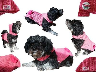 Judithhaekelt Hundepullover Myboshinet