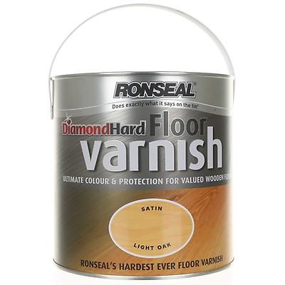 Ronseal Diamond Hard Floor Varnish Dark Oak
